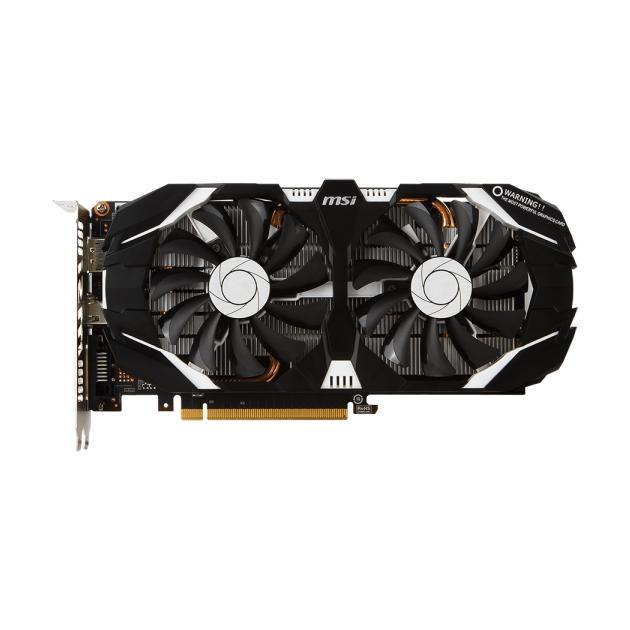 MSI NVIDIA GeForce GTX 1060 3070Мб, GDDR5, 1544MHz, PCI-Ex16 3.0 GTX10603GTOC