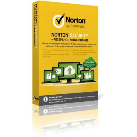 Norton Security + Backup SY21347798 1 год, 10, BOX, Чистая установка