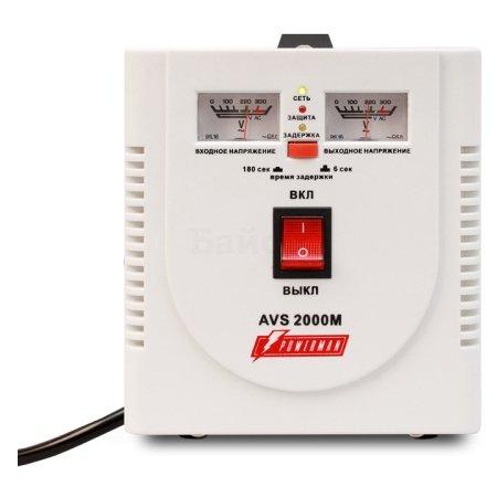 Powerman AVS 2000M однофазный, 2000ВА