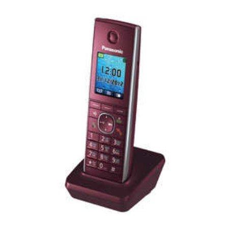 Трубка доп. Dect Panasonic KX-TGA855RUR красный для KX-TG8551/8561/8552/8562