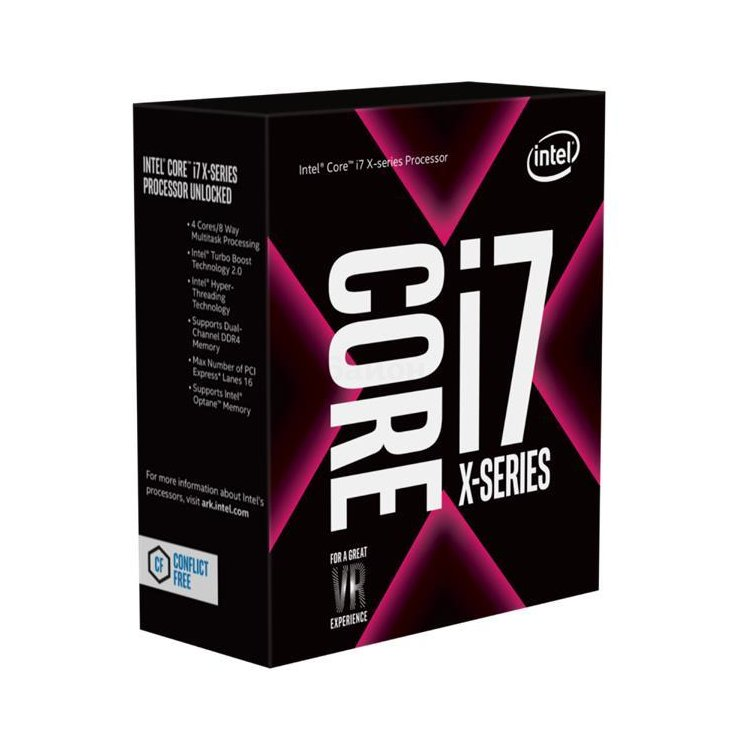 Intel Core I7-7800X Box 6 ядер, 3500МГц, Box