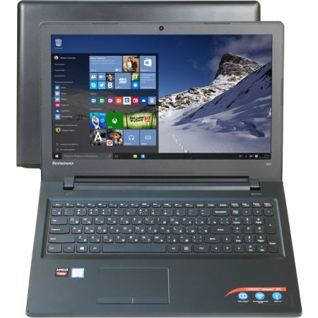 "Lenovo IdeaPad 300-15ISK 80Q701JFRK 15.6"", Intel Core i3, 2300МГц, 4Гб RAM, DVD нет, 1Тб, Черный, Wi-Fi, Windows 10, Bluetooth"