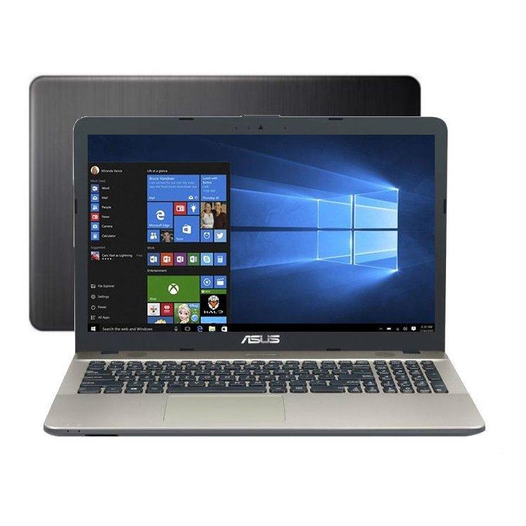 "Asus X541SA-XX327T 15.6"", Intel Pentium, 1600МГц, 2Гб RAM, DVD нет, 500Гб, Wi-Fi, Windows 10 Домашняя, Bluetooth"