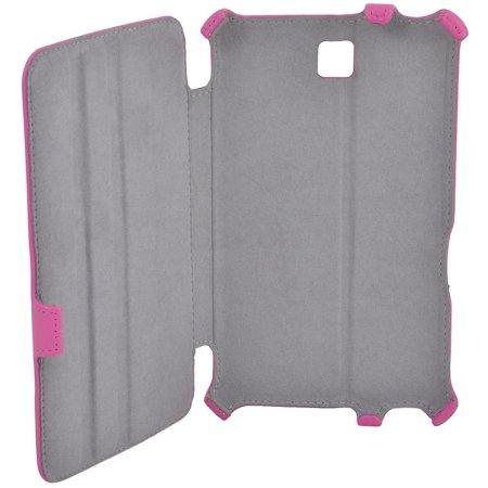 IT Baggage ITSSGT7305-3 для Samsung Galaxy Tab3 чехол-книжка, кожзам, Розовый
