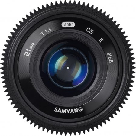SAMYANG MF 21mm T1.5 ED AS UMC CS CINE Sony E