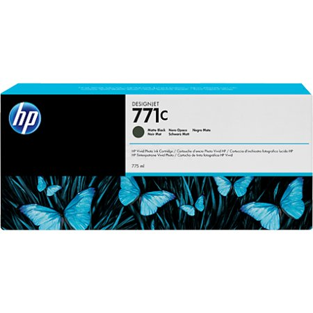 HP Inc. Cartridge HP 771C черный матовый для HP Designjet Z6200 775ml