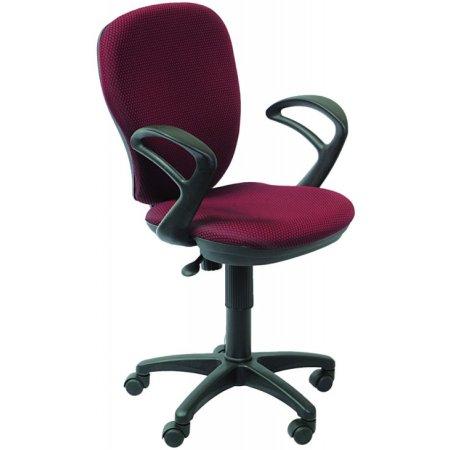 Кресло Бюрократ CH-513AXN/#Ch бордовый JP-15-6