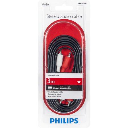 Кабель аудио Philips SWA2523W/10 2RCA-2RCA , 3,0 м