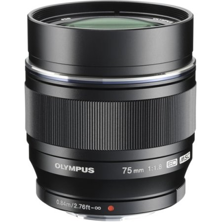 Olympus M.Zuiko Digital ED 75mm f/1.8 Стандартный, Micro 4/3