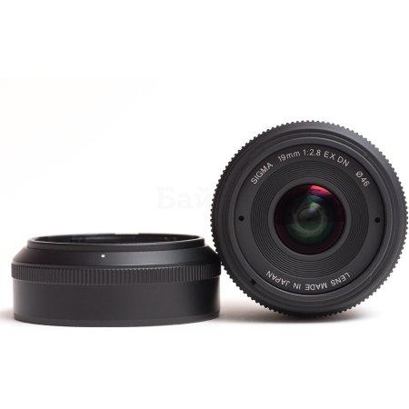 Sigma AF 19mm f/2.8 DN/A , Черный Широкоугольный, Sony E