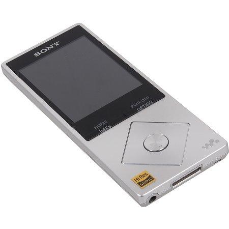 Sony NWZ-A15 Серебристый, 16Гб