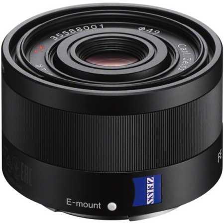 Sony Carl Zeiss Sonnar T* FE 35mm f/2.8 ZA Широкоугольный, Sony E, Совместимость с полнокадровыми фотоаппаратами