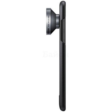 Samsung Lens Cover для Samsung Galaxy Note 7 задняя крышка, кожа, Черный