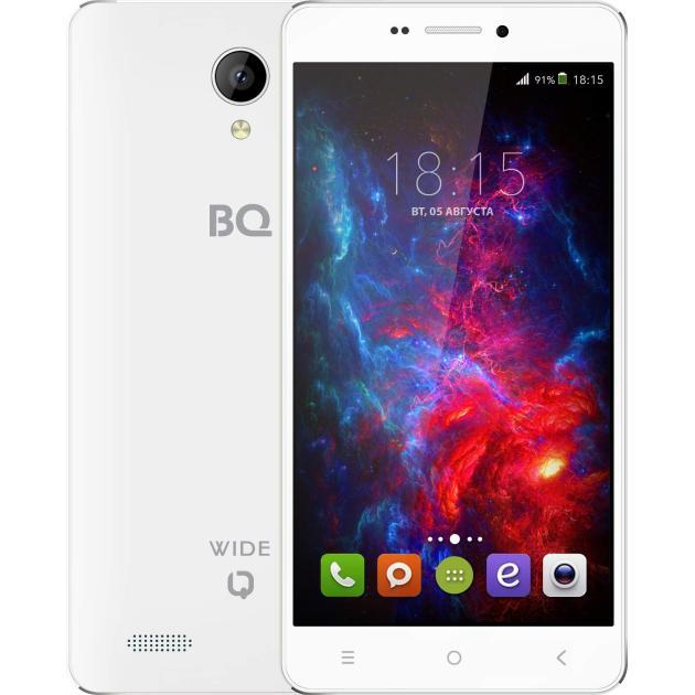 BQ-Mobile BQ BQS-5515 Wide Белый bq mobile bq bqs 5050 strike selfie розовый