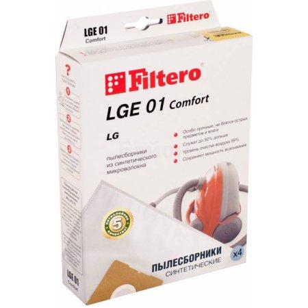Пылесборники Filtero LGE 01 Comfort (4пылесбор.)