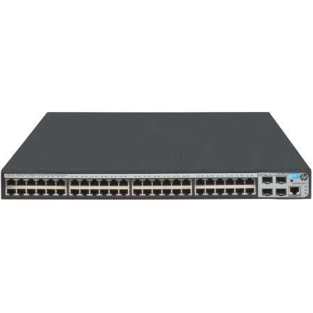 HPE HP 1920-48G Switch 48x10/100/1000 RJ-45 + 4xSFP, Web-managed, static routing, 19' repl. for JE009A