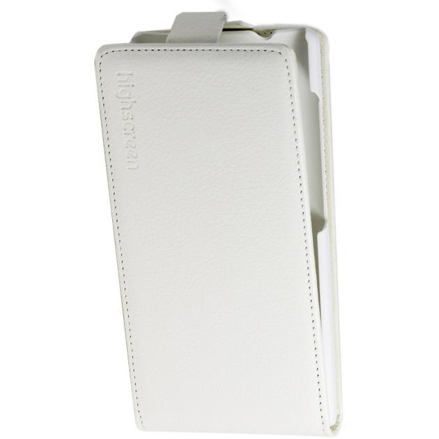 Оригинальный чехол Flip Case для Highscreen Pure F Белый