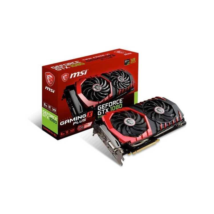 MSI GeForce GTX 1080, GTX 1080 GAMING CI-E 3.0, 8192Мб, GDDR5X