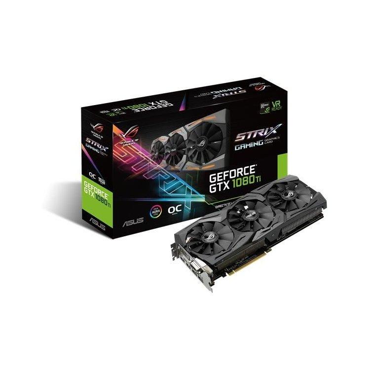 Asus Rog Strix GeForce GTX 1080 Ti Gaming O11G