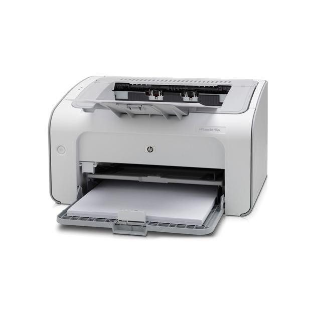 HP LaserJet Pro P1102 RU Лазерный  светодиодный, Белый, Черно-белая, А4