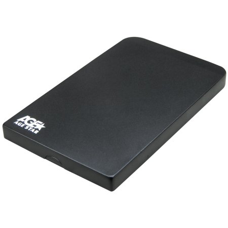 "Корпус AgeStar 3UB2O1 Black usb3.0 to 2,5""hdd SATA алюминий черный"