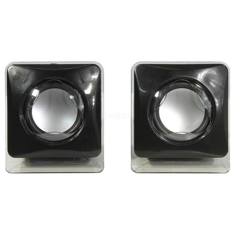 Defender SPK 35 Черный, 2.0, mini jack, Пластик
