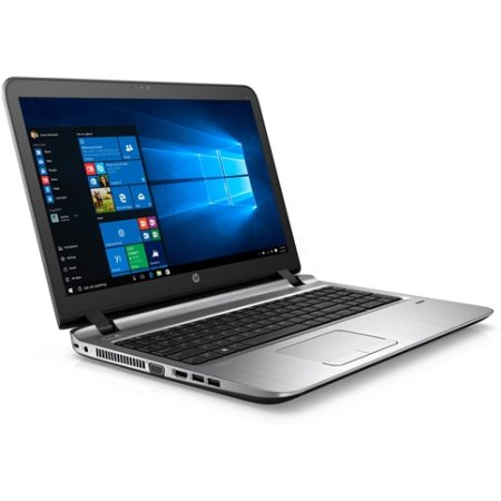 "HP ProBook 450 G3 W4P21EA 15.6"", Intel Core i3, 2.3МГц, 4Гб RAM, DVD-RW, 128Гб, Темно-серый, Windows 7, Windows 10, Wi-Fi, Bluetooth"