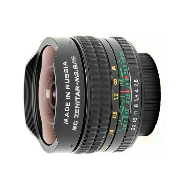 МС Зенитар Н 16/2.8 «Рыбий глаз», Nikon F, Совместимость с полнокадровыми фотоаппаратами