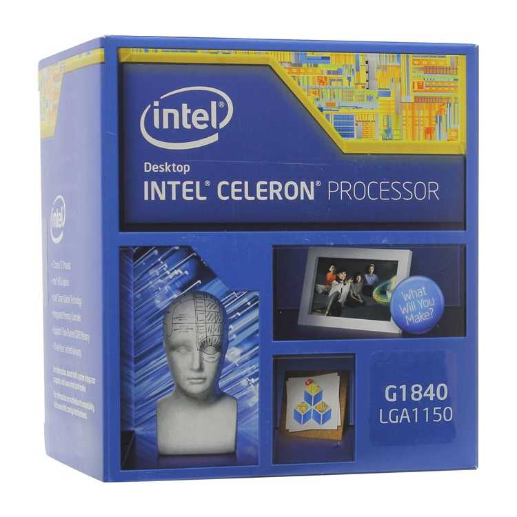 Intel Celeron G1840 Haswell 2800MHz, LGA1150, L3 2048Kb