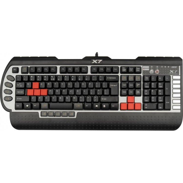 Купить A4Tech X7-G800 Black-Silver PS/2 в интернет магазине бытовой техники и электроники