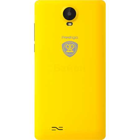 Prestigio Wize E3 3509 DUO 4Гб, Желтый, Dual SIM, 3G