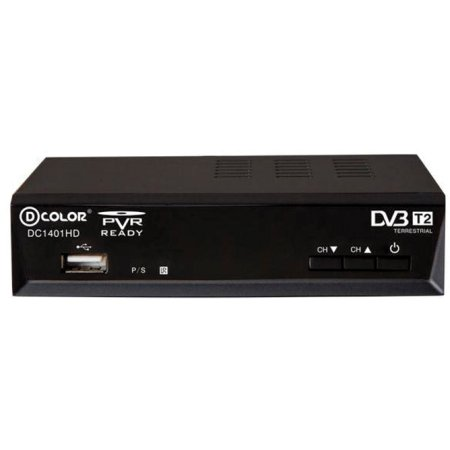 Ресивер DVB-T2 D-COLOR DC1401HD