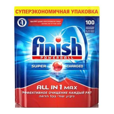 Средство для мытья посуды для посудомоечных машин Finish 170709304 (упак: 100шт)