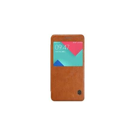 Nillkin Qin для Samsung Galaxy A5 2016 чехол-книжка, кожзам, Коричневый