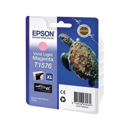 Epson T1579 Светло-пурпурный, Картридж струйный, Повышенная, нет