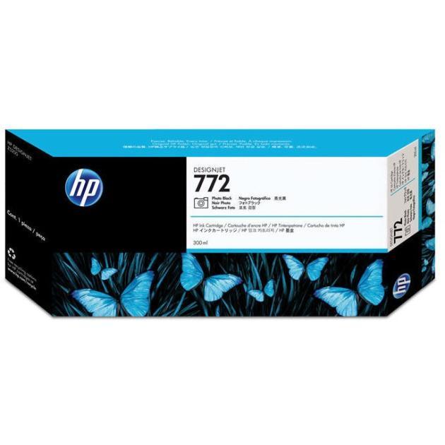 HP 772 Черный, Картридж струйный, Стандартная, нет