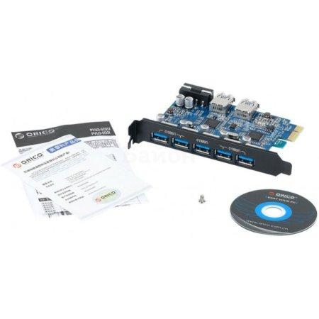Контроллер PCI-E Orico PVU3-5O2U