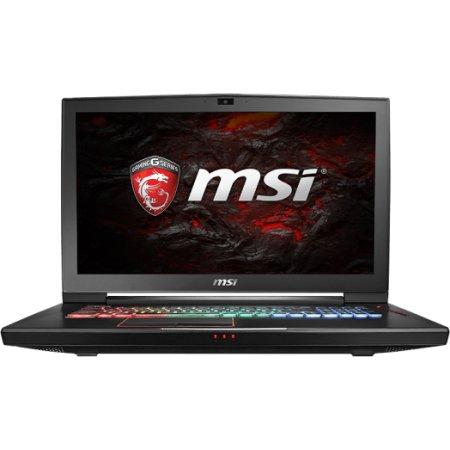 "MSI GT73VR Titan Pro 6RF-004RU 17.3"", Intel Core i7, 2700МГц, 16Гб RAM, DVD нет, 1000+2x128SSD, Черный, Wi-Fi, Windows 10, Bluetooth"