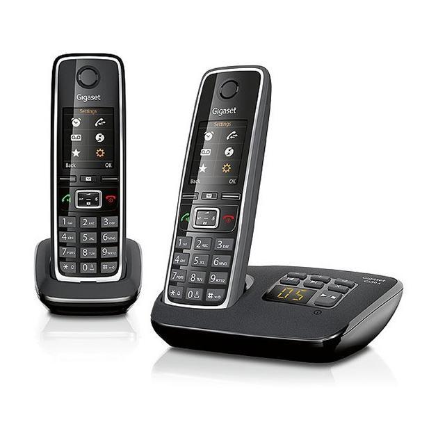 Gigaset C530A Duo Черный, Дисплей, 6, 1