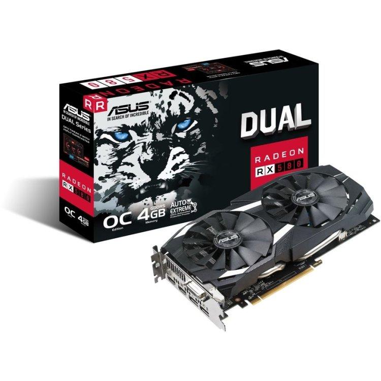 Asus AMD Radeon RX 580 Dual OC 4G