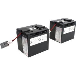 APC by Schneider Electric Battery replacement kit for SUA48XLBP, SUA5000RMI5U, SUA2200I, SUA3000I, SUA3000XLI, SUA2200XLI (состоит из 4 батарей)