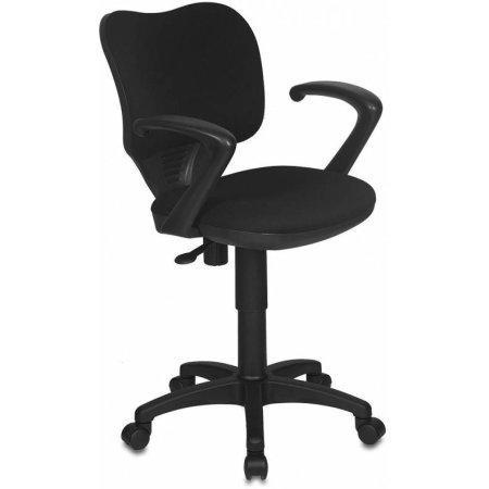 Кресло Бюрократ CH-540AXSN-LOW/26-28 низкая спинка черный 26-28