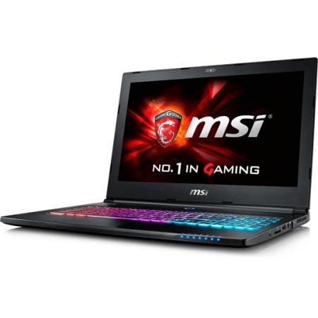 "MSI GS60 Ghost 6QD-274RU 15.6"", Intel Core i7, 2600МГц, 16Гб RAM, DVD нет, 1Тб, Черный, Wi-Fi, Windows 10, Bluetooth"