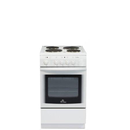 Плита Электрическая De Luxe 5004.14э белый Белый