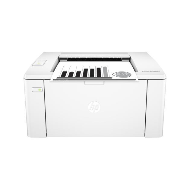 HP LaserJet Pro M104w Лазерный  светодиодный, Белый, Черно-белая, А4