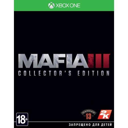 Mafia 3 Коллекционное издание Xbox One, коллекционное издание, русские субтитры