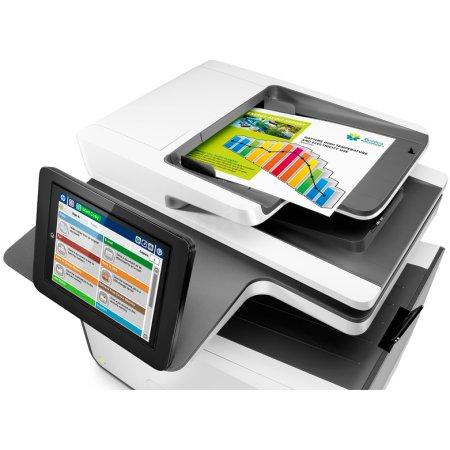HP PageWide Enterprise Color Flow MPF 586z Лазерный \ светодиодный, Белый, Цветная, А4