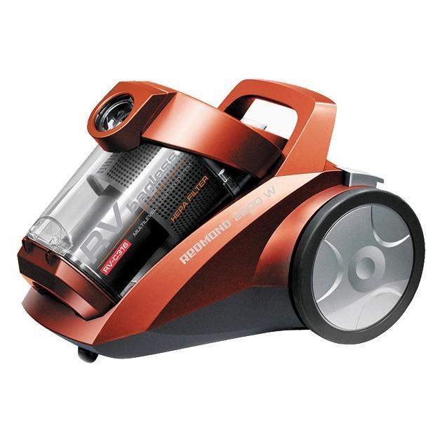 Пылесос Redmond RV-C316 2200Вт серый