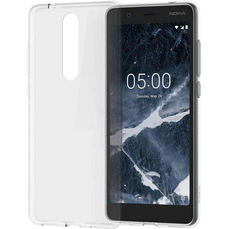 Чехол Nokia 5.1 Clear Case