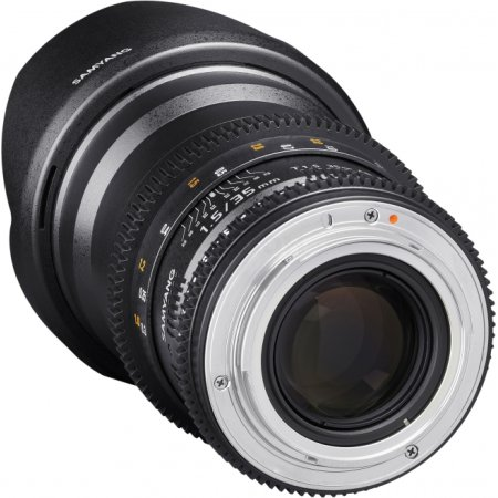 SAMYANG MF 35mm T1.5 ED AS UMC VDSLR II Sony E Sony A